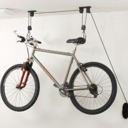 Крепление велосипеда к потолку - лифт