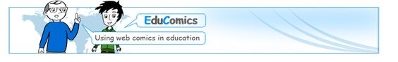 EduComics.orgThis blog has a variety of resources and ideas for using comics in the classroom. The simplicity here might be a good thing, so do not be fooled into thinking