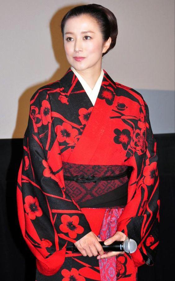 和服と鈴木京香