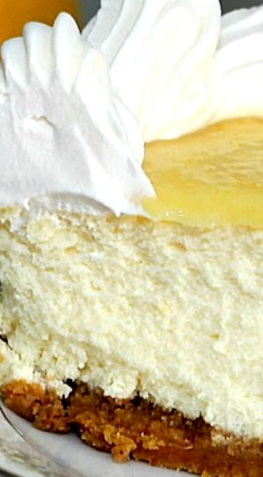 ... , the cream cheese is not overpowered in this creamy cheesecake