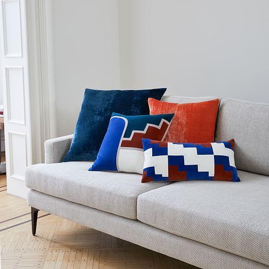 Lush Velvet Pillow Cover Golden Oak 20 X20 Quot Pillow Covers Velvet Pillows Velvet Cushions