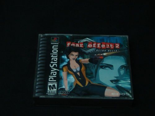 Fear Effect 2 Retro Helix MINT COMPLETE PLAYSTATION 1 3 PS1 PS2 PS3 101M