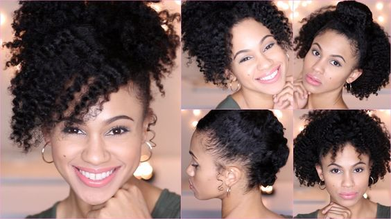5 Quick and Easy Hairstyles for Short Natural Hair