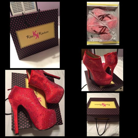 kiss kouture ❣NEW❣ kiss Kouture Shoes Ankle Boots & Booties