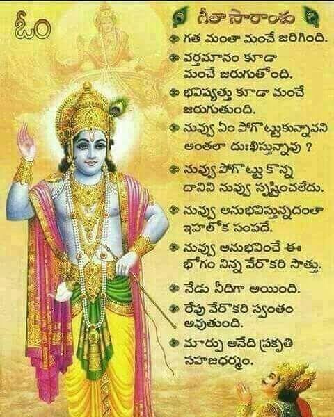 Untitled Geeta Quotes Gita Quotes Devotional Quotes