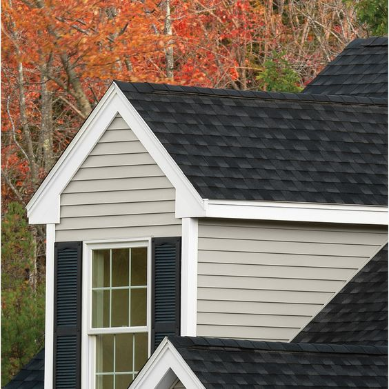 Georgia Pacific Forest Ridge Vinyl Siding Panel Double 5 Traditional Mist 10 In X 144 In Lowes Com Vinyl Siding Vinyl Siding Panels Vinyl Siding House