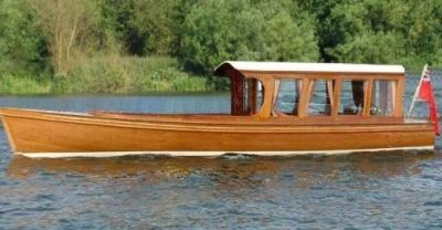 Classic Motor Launch | Please call or e mail to discussyour requirements.