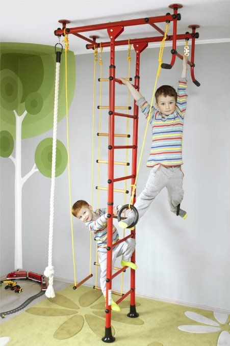 climbing wall sprossenwand turnwand m1 red. Black Bedroom Furniture Sets. Home Design Ideas
