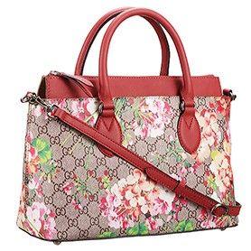 Gucci Handbags Blooms Supreme Canvas Tote