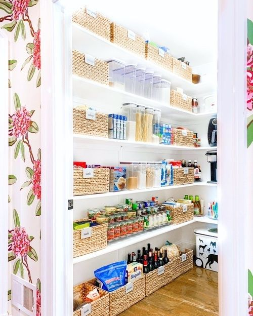 Fashion Look Featuring Container Store Storage Containers By Thehomeedit Shopstyle The Home Edit Pantry Remodel Kitchen Pantry Design