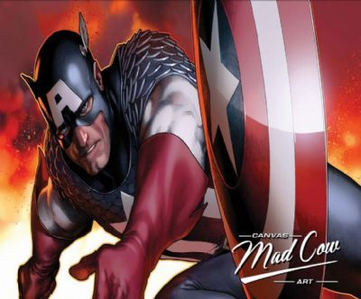 Captain America | Madcowcanvas.co.uk