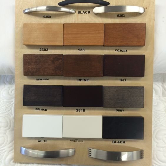 Cabinet Bed Colour Swatch . http://ontariocabinetbed.ca/t/cabinet-bed