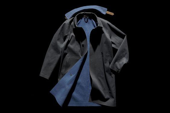Nightwatchman reversible laser-cut garment by Boneville » Retail Design Blog