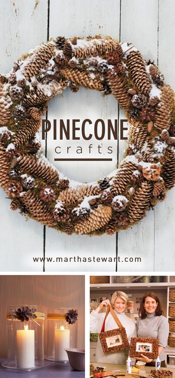 Photos displayed in pinecone frames demand a closer look; when hung on the tree, each ornament, like a page in a scrapbook, tells a story.
