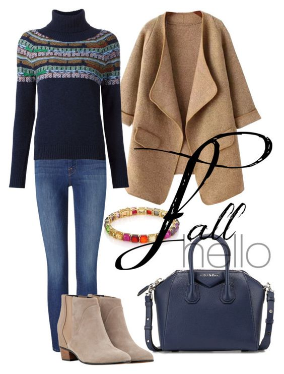 """""""Hello Fall"""" by reneta245 ❤ liked on Polyvore featuring beauty, Frame Denim, Barrie, Augusta, Givenchy and Ippolita"""