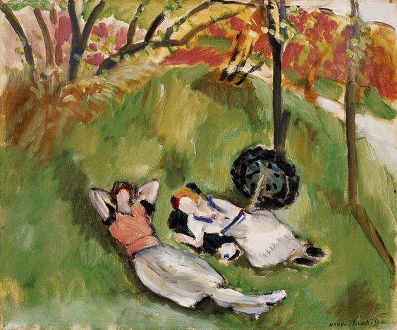1921 (150 Kb); 15 x 18 3/8 in; Barnes Foundation  Matisse
