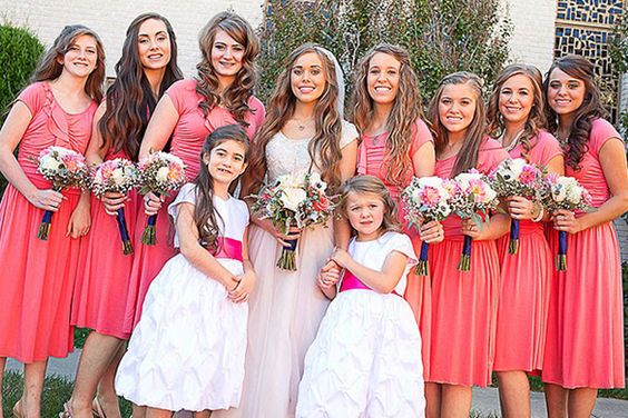 Jessa Duggar's Bridal Party, Sundae Bar, & More Wedding Pictures! - Breaking Television News