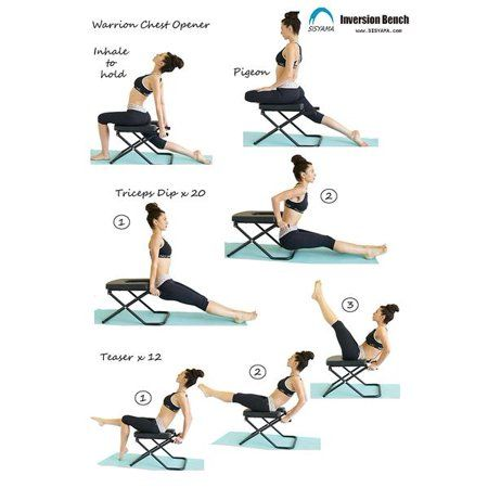 Fitness Yoga Chair Inversion Bench Bench Workout Manual Bench Workout Yoga Inversions Advanced Yoga