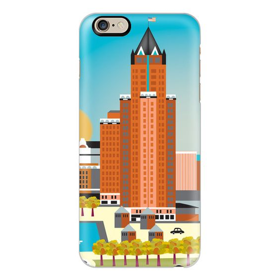 Milwaukee, Wisconsin - iPhone 7 Case, iPhone 7 Plus Case, iPhone 7... ($40) ❤ liked on Polyvore featuring accessories, tech accessories, iphone case, slim iphone case, iphone cover case, apple iphone case and iphone cases