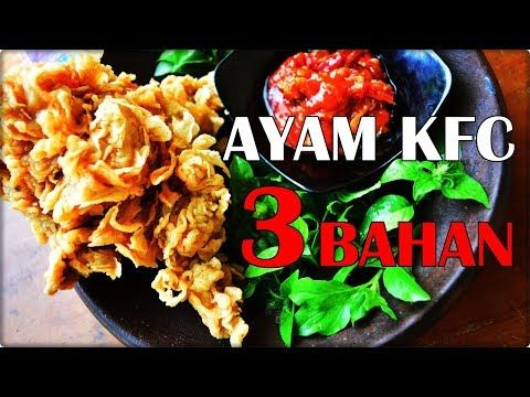 Ayam Goreng Crispy 3 Bahan Ekonomis Dan Tahan Kriuk 12 Jam Cocok Untuk Usaha Youtube Resep Ayam Resep Masakan Ayam Goreng