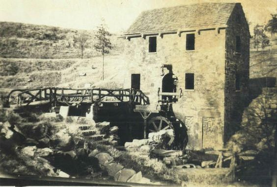 Old Mill in the 1930's, North Little Rock, Arkansas - Picture donated by Pat Anthony