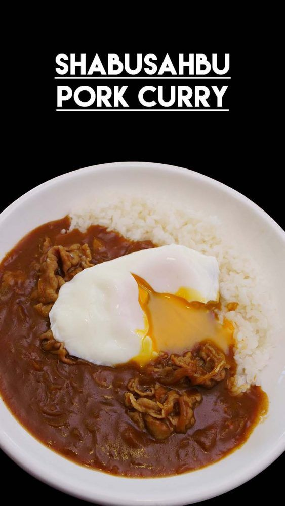 Japanese Curry 4 Ways Recipe Video In 2020 Japanese Curry Pork Curry Recipe Pork Curry