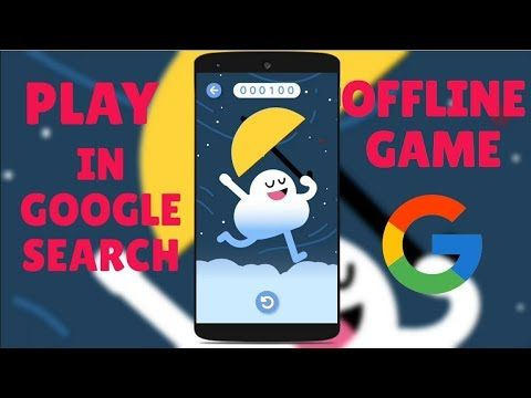 Play Offline Game In Google Search In Android Flappy Bird Like