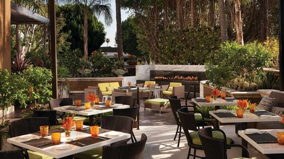CONCIERGE RECOMMENDED: The perfect setting for some celeb spotting. Culina, Modern Italian. #bestofLA