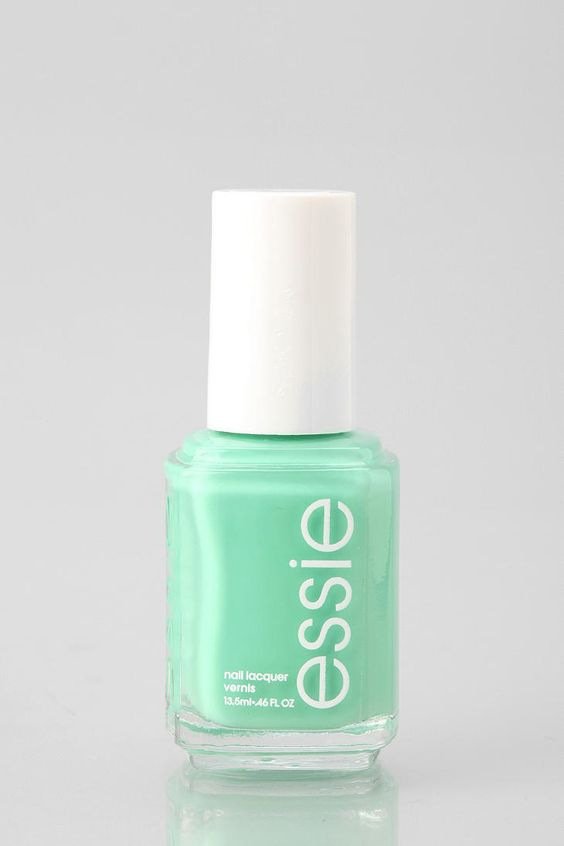 Essie Nail Polish Mint i just LOVE essie!! | nails | Pinterest ...