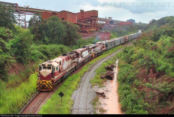 Foto RailPictures.Net: EFC 389 EFC - Estrada de Ferro Carajás GE C36-7B em São Luís, Maranhão, Brasil, Cristiano Oliveira