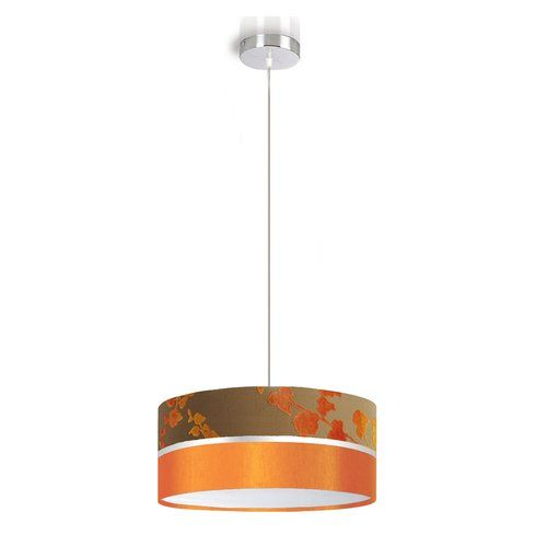Eltor Aros 1 Light Drum Pendant