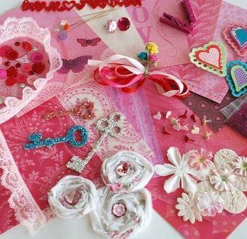 Valentine Heart Card Crafts