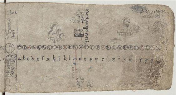 "Calendrier Julien. Septembre. Balance. Codex : ""Codex Mexicanus"". 47 feuillets en papier d'agave, écrits recto-verso. 1571-1590.:"