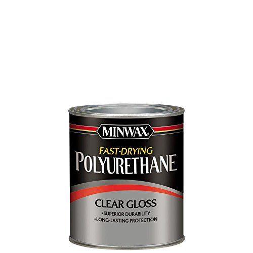 Minwax 63000 Fast Drying Polyurethane Clear Gloss Quart Https Www Amazon Com Dp B000c010j8 Ref Cm Sw R Pi Dp U X W40yab4jqqymf Rapide Seche Semis