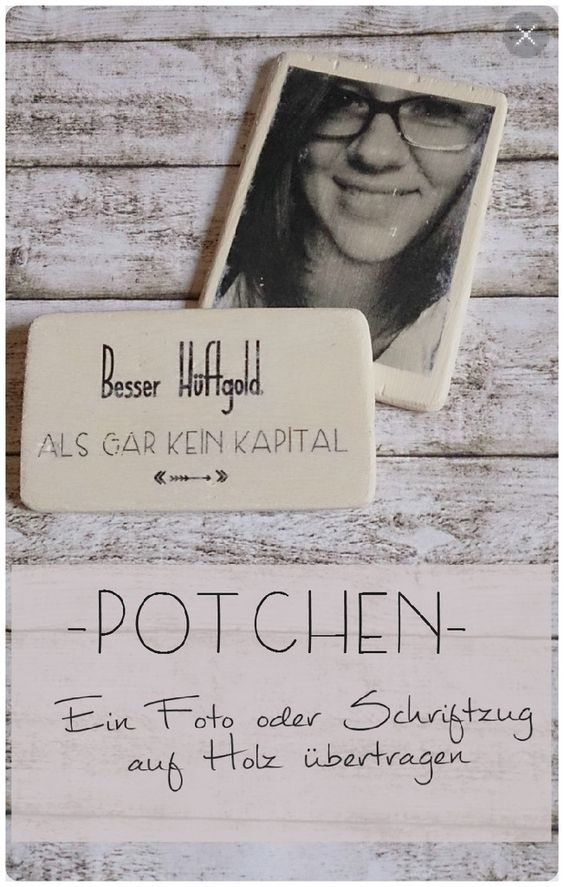 potchen foto oder schriftzug auf holz bertragen diy geschenk valentintagsgeschenk. Black Bedroom Furniture Sets. Home Design Ideas