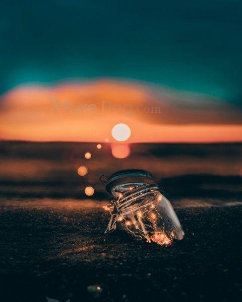 Strip Light In Jar Beautiful Sunset Wallpapers Framing Photography Bokeh Photography Light Photography