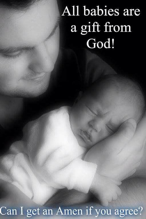 All babies are a gift from God