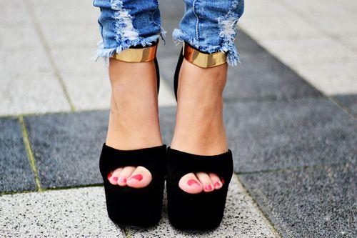 Imagen de fashion, shoes, and black