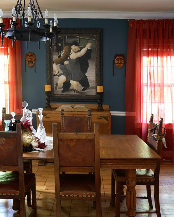 Old world Dining Room   #dining #interior design #home decor #rooms