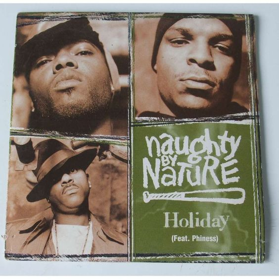 Naughty by Nature, Phiness – Holiday (single cover art)