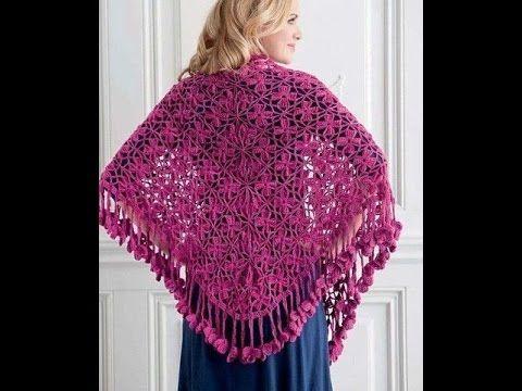 Crochet shawl  Free  Simplicity Patterns 141
