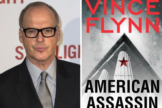 Michael Keaton is the first star casting on American Assassin (ISBN 9781416595199 $9.99), the adaptation of the Vince Flynn bestselling novel series http://deadline.com/2016/03/michael-keaton-american-assassin-vince-flynn-novel-series-michael-cuesta-cbs-films-lionsgate-1201716934/