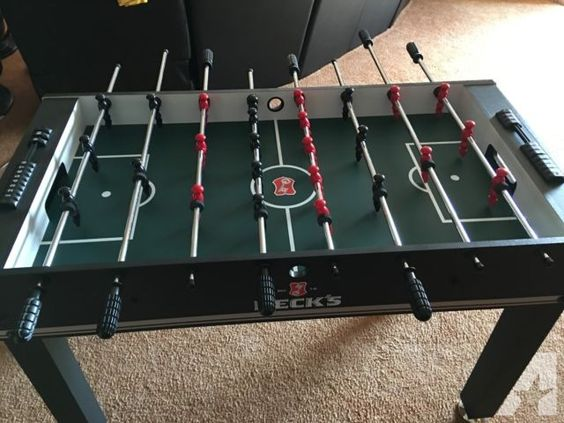 Beck's Imported German Beer Branded Foosball Game Table for Sale in Barrington, Illinois Classified | AmericanListed.com