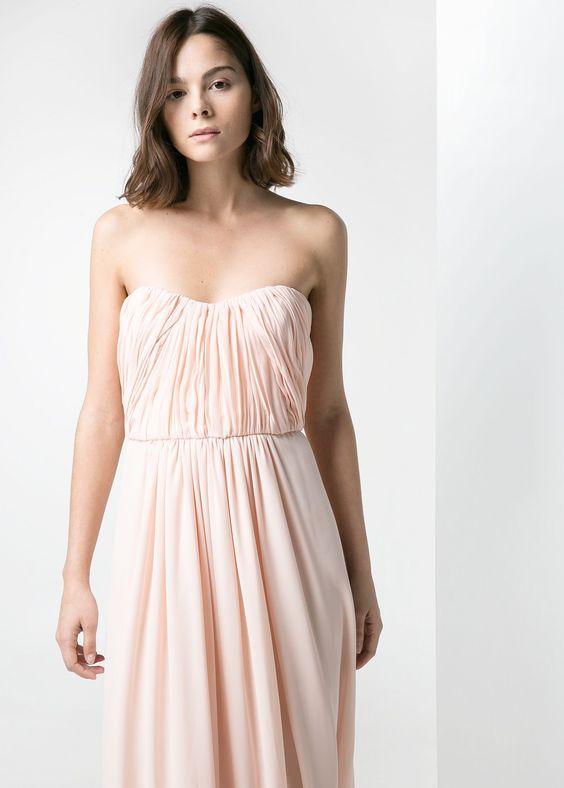 Mango orange prom dresses - Dress on sale