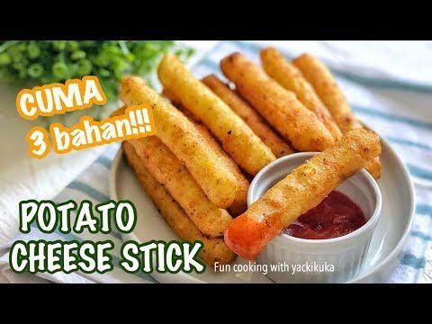 Potato Cheese Stick Kentang Goreng Keju Youtube Kentang Goreng Resep Masakan Resep Makanan Pembuka