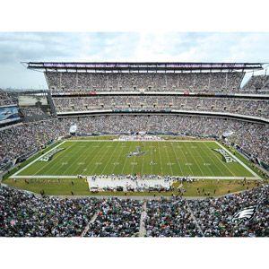Artissimo Designs NFL Eagles Stadium Canvas, 22x28