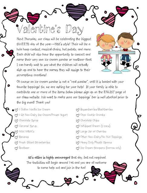 Valentine FREEBIES and Social Studies Cuties  Sundae party