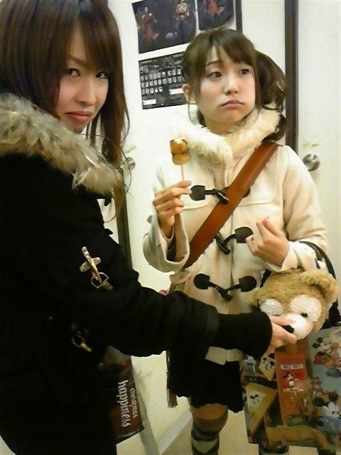 みたらしを食べる大島優子