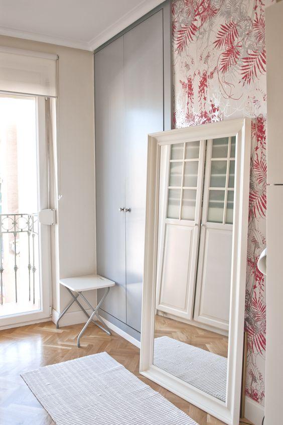 Ideas de #Vestidor, estilo #Vintage color  #Rosa, diseñado por F