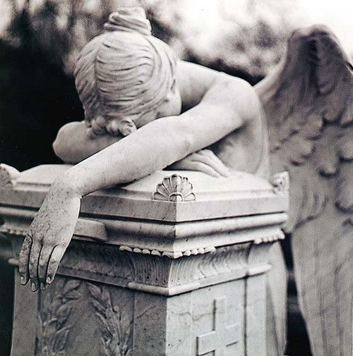 Angel Grief and Statue on Pinterest